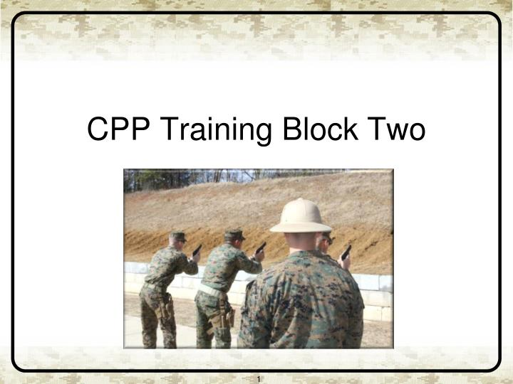 cpp training block two