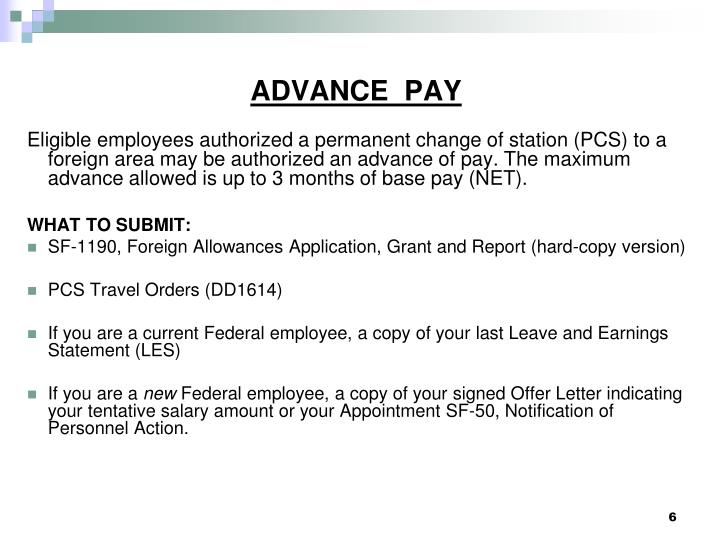 net pay advance - 2