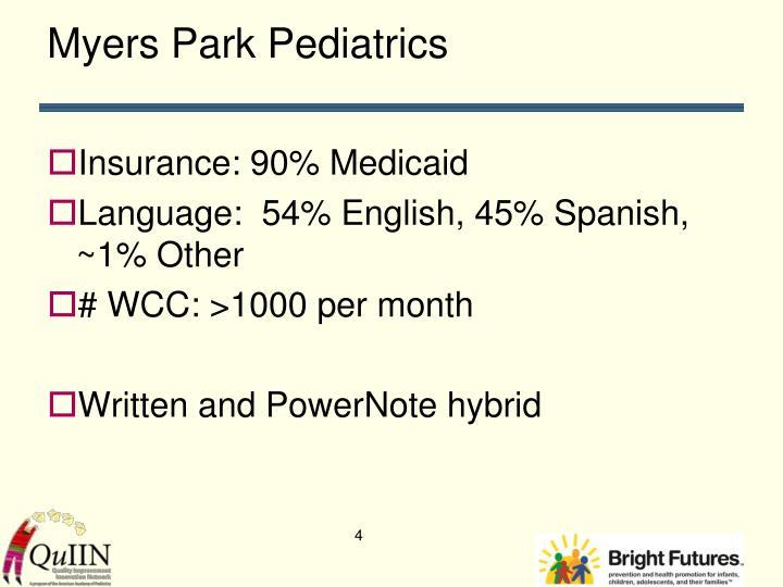 Myers Park Pediatrics