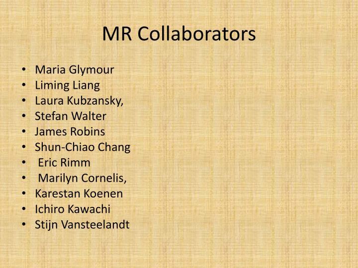 MR Collaborators