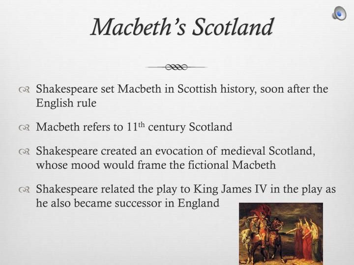 Macbeth s scotland