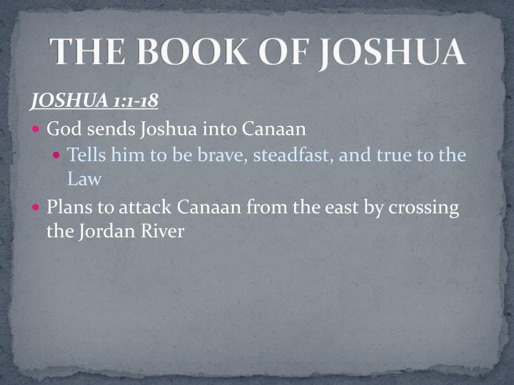 THE BOOK OF JOSHUA