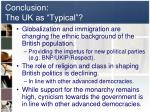 conclusion the uk as typical