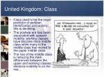 united kingdom class
