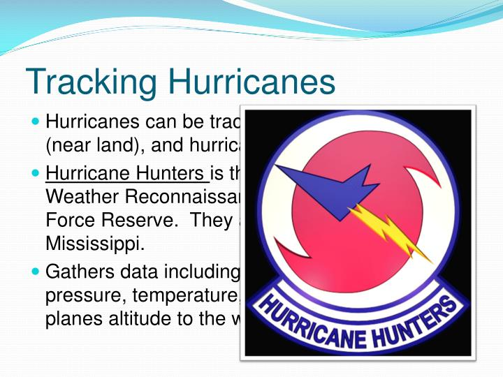 Tracking Hurricanes