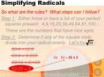 simplifying radicals4