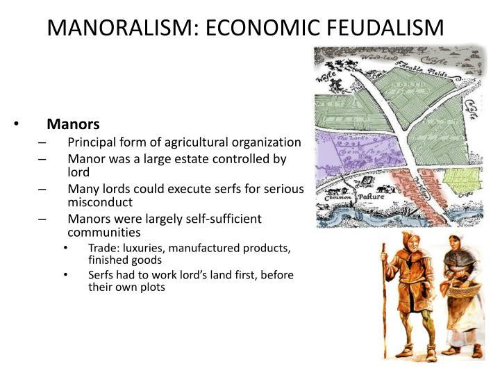 Manoralism economic feudalism