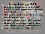 partner read pgs 18 25