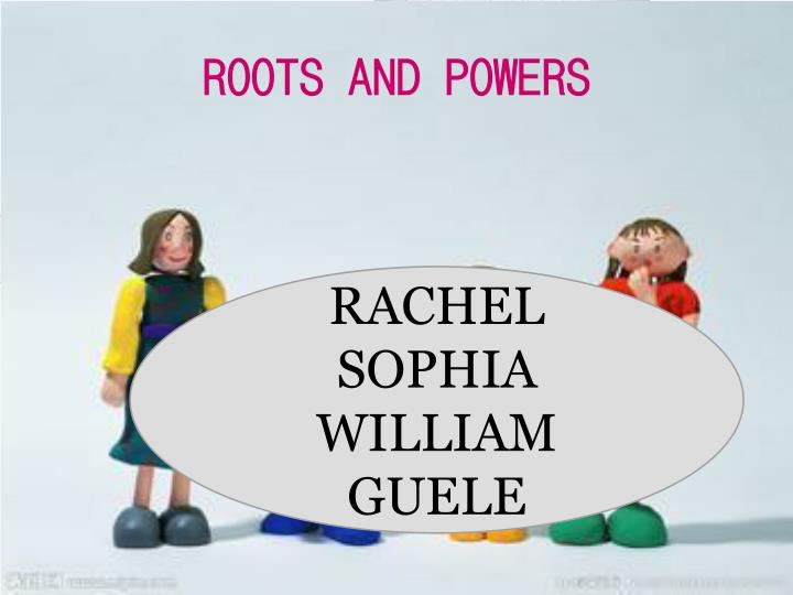 roots and powers n.