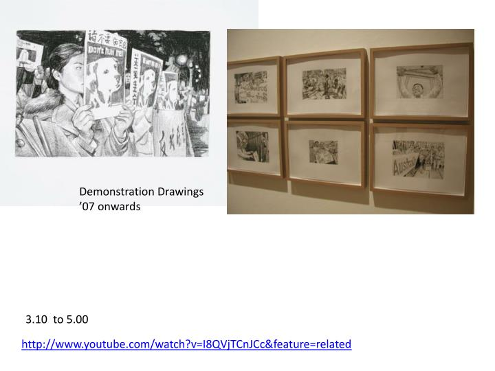 Demonstration Drawings