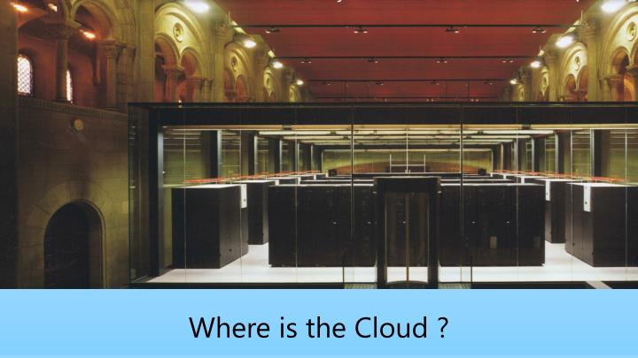 Where is the Cloud ?