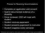 process for receiving accommodations6