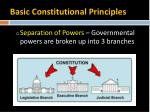 basic constitutional principles2
