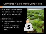commerce slave trade compromise