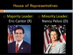 house of representatives6
