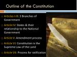 outline of the constitution1