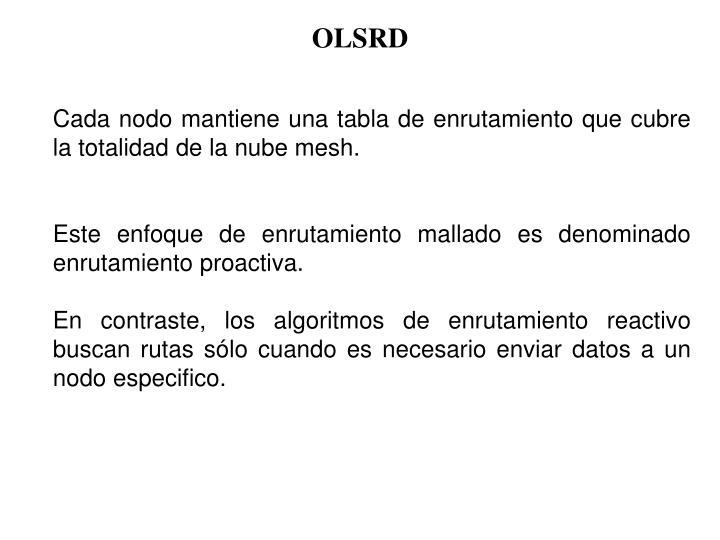 OLSRD