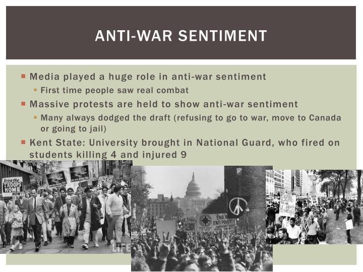 Anti-War sentiment