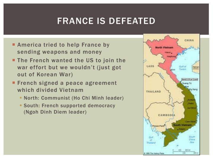 France is defeated
