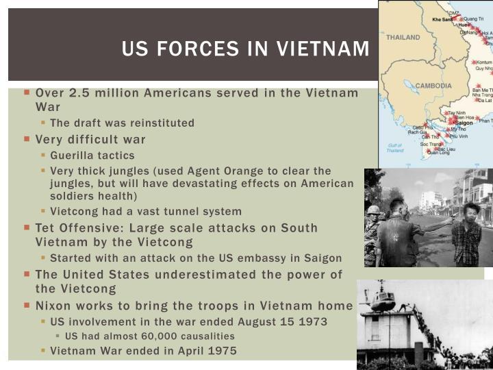 US forces in Vietnam