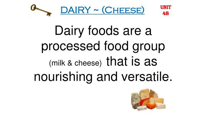 Dairy cheese1