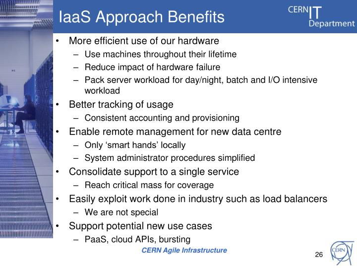 IaaS Approach Benefits