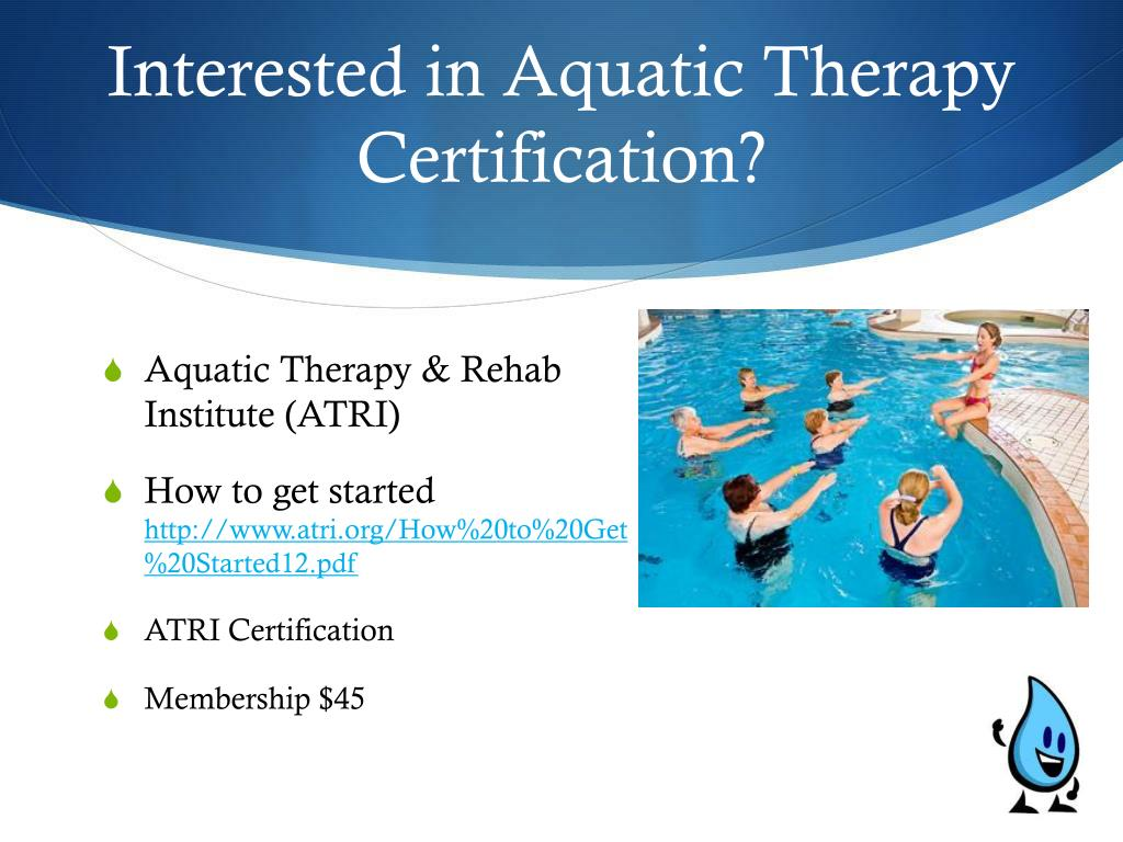aquatic therapy sclerosis multiple ms immune certification compromised system skin ppt powerpoint presentation