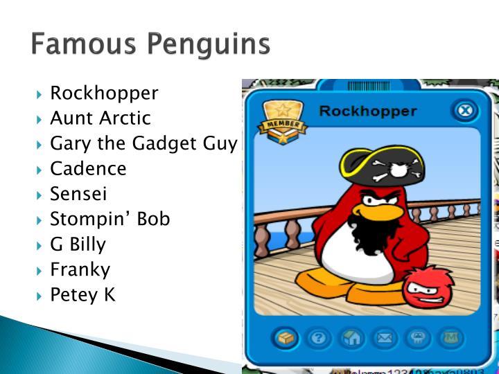 Famous Penguins