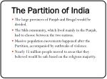 the partition of india1