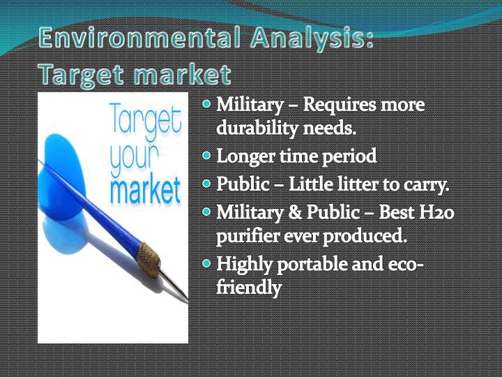 Environmental Analysis: