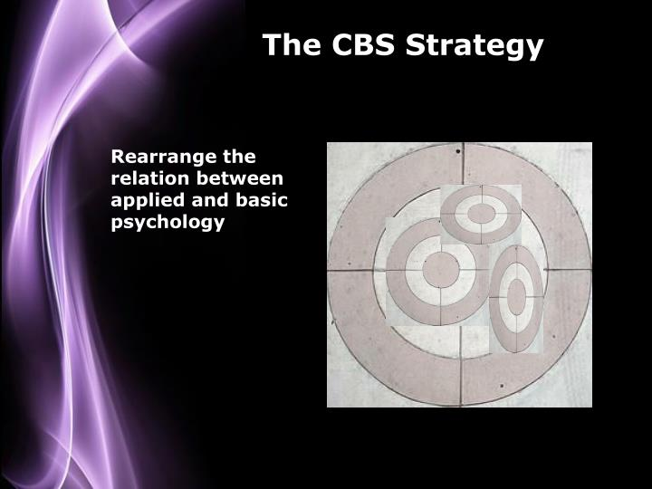 The CBS Strategy