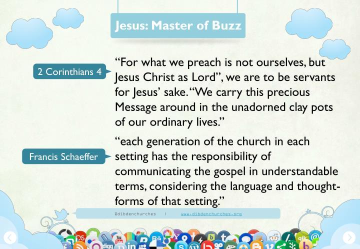 Jesus: Master of Buzz