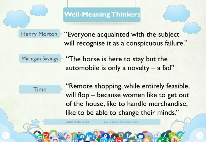 Well-Meaning Thinkers
