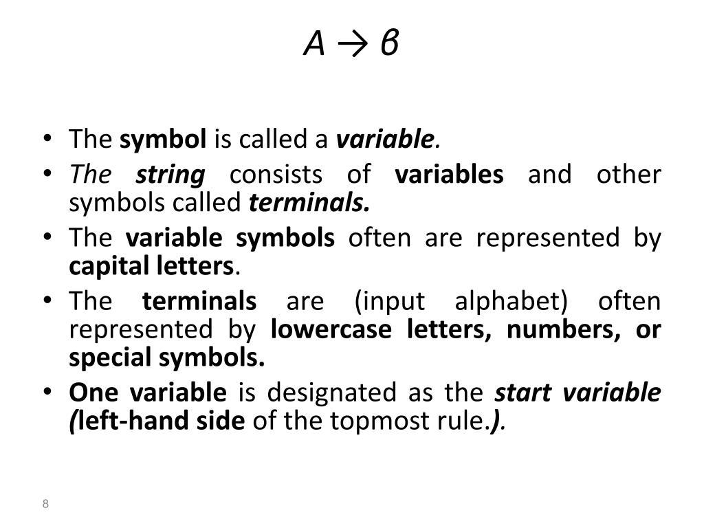 PPT - C O N T E X T - F R E E LANGUAGES ( use a grammar to