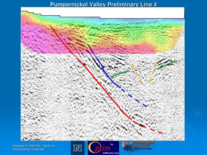 Pumpernickel Valley Preliminary Line 4