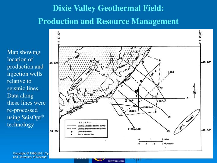 Dixie Valley Geothermal Field: