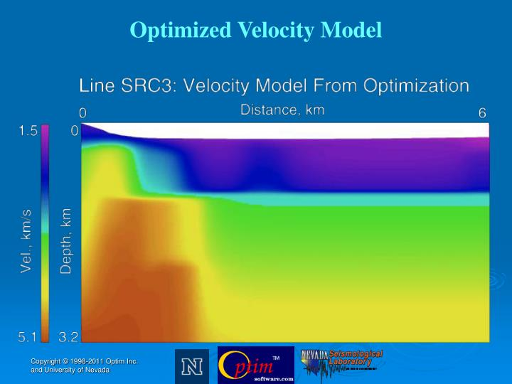 Optimized Velocity Model