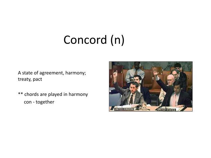 Concord n