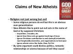claims of new atheists1