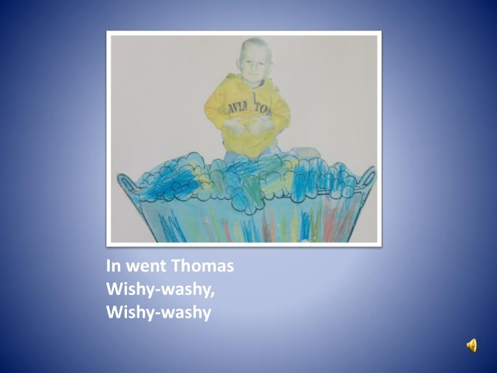 In went Thomas