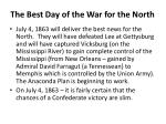 the best day of the war for the north
