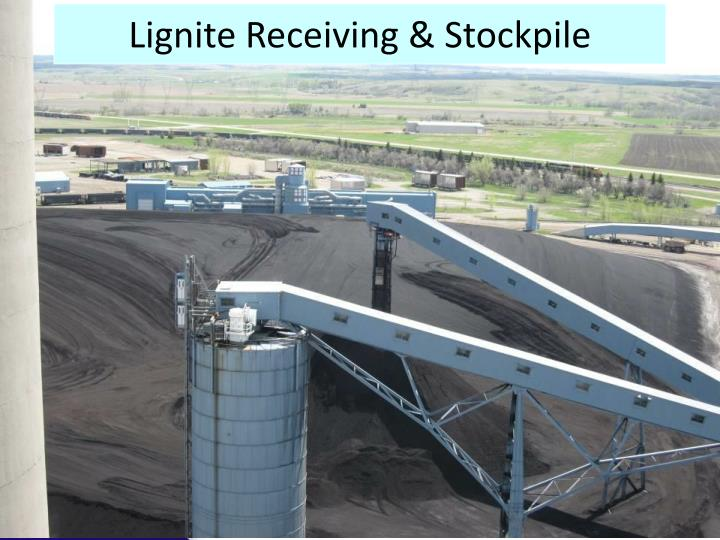 Lignite Receiving & Stockpile