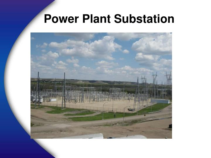 Power Plant Substation