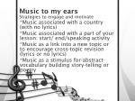 music to my ears6