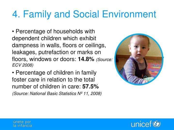 4. Family and Social Environment