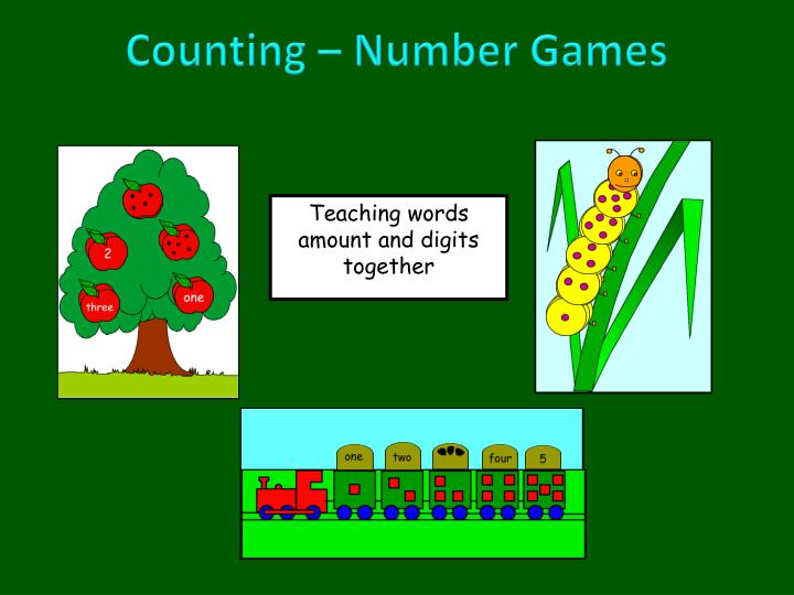 Counting – Number Games