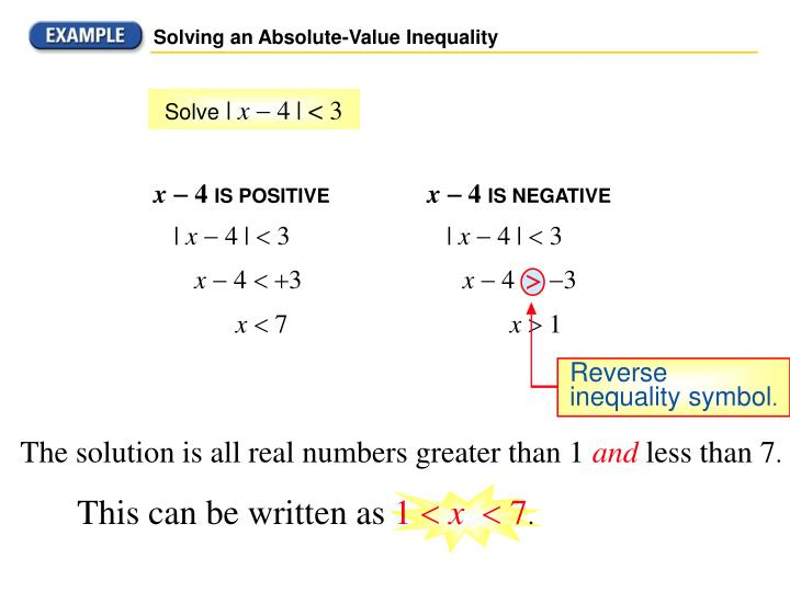 Ppt Absolute Value Inequalities Powerpoint Presentation Id1898019
