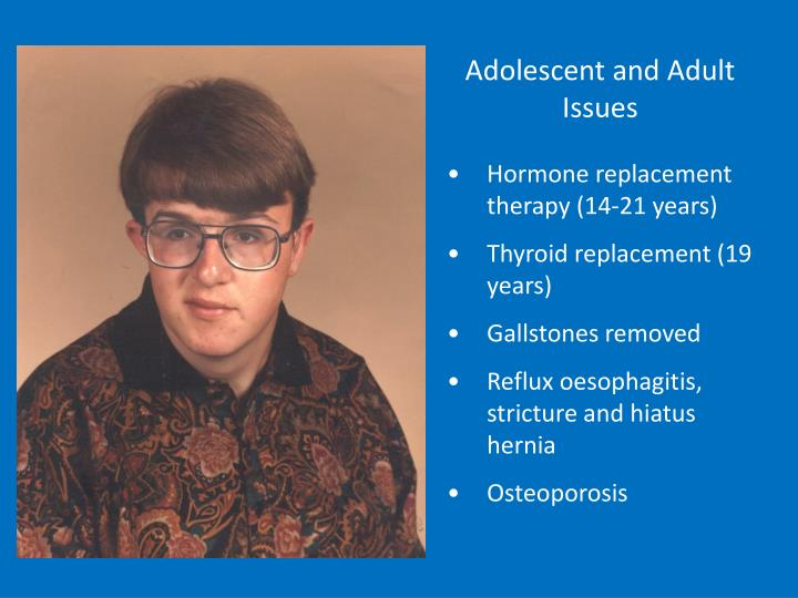 Adolescent and Adult Issues