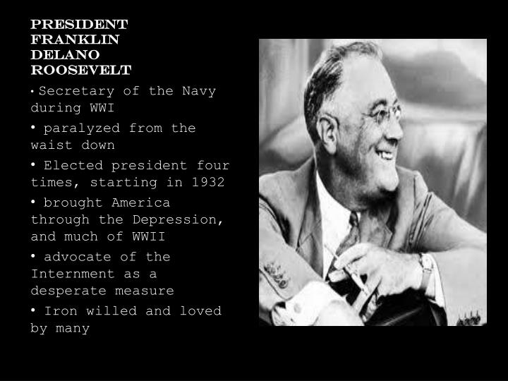 franklin delano roosevelt pulls america through the great depression Ap world history chapter 35  franklin delano roosevelt us president that brought america through the great depression and world war ii.