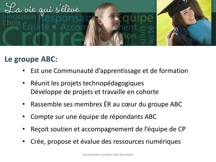 Le groupe ABC: